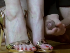 cum for high heel sandals