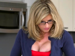 Stepmom Takes Care Of Naughty Needs