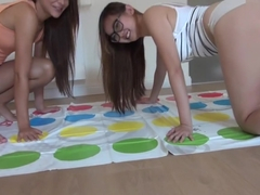 Pornstars Alexis Brill And Harriet Sugarcookie Play Twister