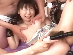 Wild Kinky Fun With A Cute Japanese Idol In Lace And A