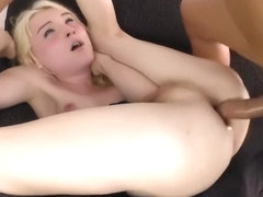 Cute Blond Shemale Fucked Hard