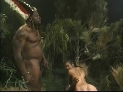 Breasty Dark Brown Acquires Drilled By Jungle BBC Monsters