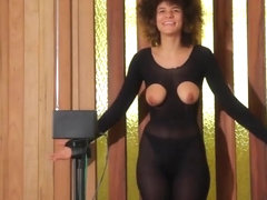 Shaking tits to theremin to make music