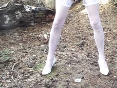 Gina Trent UK CD Squirting Milk Outdoors