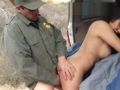 Cop fucks girl Stunning Mexican floozie Alejandra Leon attempts to help
