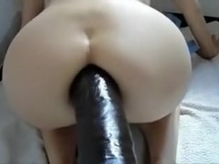 huge dildo in my ass