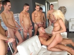 Blondie Fesser & Nacho Vidal in Nacho's Fucking Amateurs #02: Gangbangs Movie