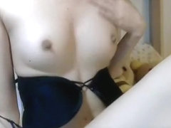 Hot Aurora Snow loves having a wild solo masturbation action