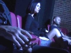 Nasty group sex porno
