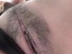 Filipina in Black Thong POV Blowjob