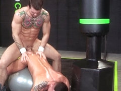 The Trainer XXX Video: Sebastian Kross, Rex Cameron - FalconStudios