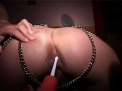 Milk bulb enema bdsm