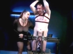 big tit mistress whipping male