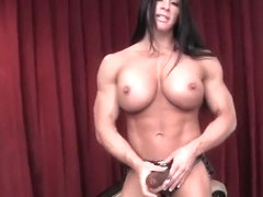 Female Bodybuilder Angela Salvagno Loves Having A Cock