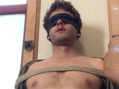 Straight boy next door is nervous about getting edged by two guys
