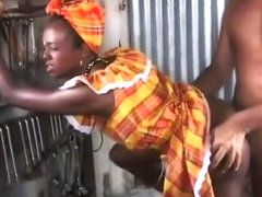 Ebony godesses African Anal Homenage comp