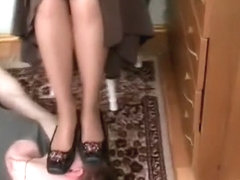 Russian teen feet worship part 1