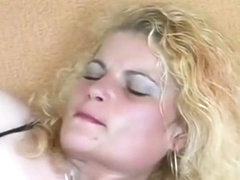 Horny amateur blonde gets filmed toying and fisting her cunt