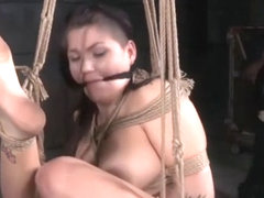 Sub Babes Dominated Over By Black Maledom