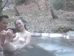 Milf Fucks in the Hot Tub
