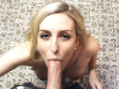 CeCeSeptember Kitchen Blowjob Swallow in private premium video