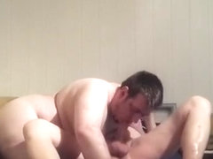 Incredible amateur gay clip with Bareback scenes