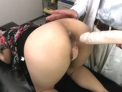Makeout secretary asian curly