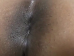 Ebony Booty with slow motion Farting