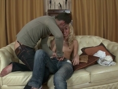 Monica S Aggressive Seduction Leads To A Big Cock In Her Ass