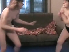 Really Rough Lesbian Fighting