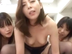 Fabulous Japanese whore Airi Hayasaka, Azusa Kato, Maki Mizusawa in Exotic Group Sex, Small Tits J.