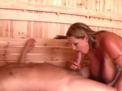 hot sauna drilling fast