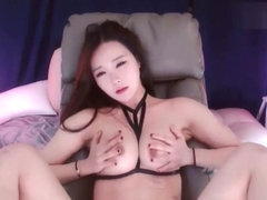 Korean BJ Neat Dance and Masturbate (Super HOT)