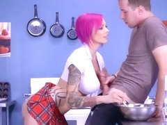 Busty Teacher Anna Bell Peaks Seduces Her Student