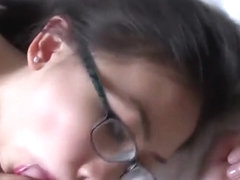 big tits asian teen fuck in glasses