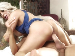 Alyssa Lynn  Xander Corvus in Step Mom Alyssa Releases Some Tension - NewSensations