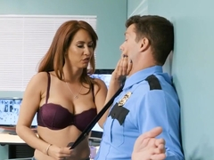 Hot Latina Milf Busted By The Stores Security Guard
