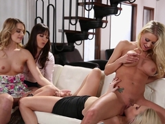 Crazy pornstars Dana DeArmond, Cadence Lux, Katie Morgan in Best MILF, College porn movie