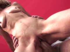 Saggy euro granny pussylicked and fucked