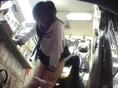 Japanese Hedden Cams in Dildos Toy Shop