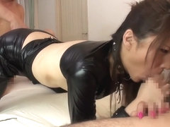 Incredible Japanese slut in Exotic Fetish, Threesome JAV scene