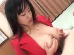 Amazing Japanese model Sasa Handa, Kaho Kasumi, Meguru Kosaka in Best Strapon, Handjob JAV movie