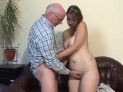 Opinion chubby brunette fucks old man that result