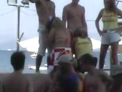 Greek holiday public BJ fun