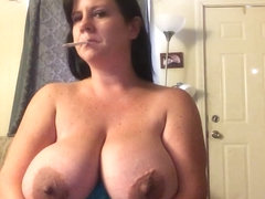 Fay smoking while pregnant huge tits