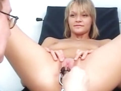 Faye Gyno Exam With Pussy Gaping And Real Orgasm bdsm bondage slave femdom domination
