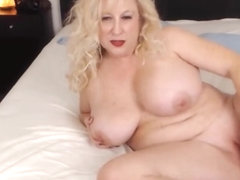 Hot curvy blonde mother likes to tease until you cum