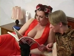 Busty Mom Helga and Slava 1