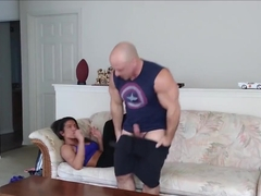 Step sister horny after gym