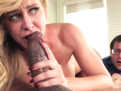 Cherie Deville in Interracial Cuckold - Hustler